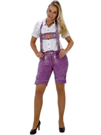 Lilla lederhosen til kvinder 338x450 - Lilla kostumer til voksne