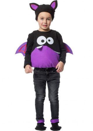 Lilla monster børnekostume 319x450 - Lilla kostumer til børn