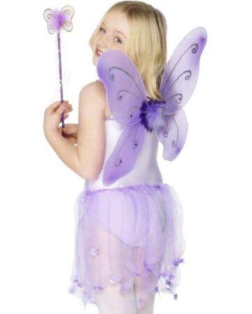 Lilla sommerfuglesæt 361x450 - Lilla kostumer til børn