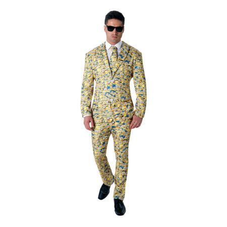 Minions allover kostume 450x450 - Gule kostumer til voksne