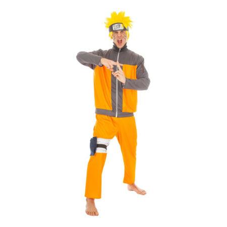 Naruto Deluxe Kostume 450x450 - Orange kostumer til voksne