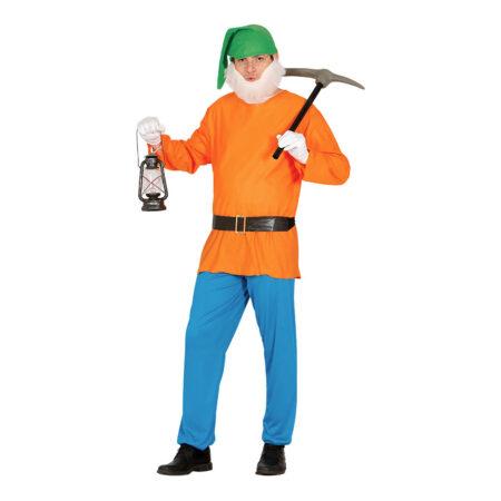 Orange dværg kostume 450x450 - Orange kostumer til voksne