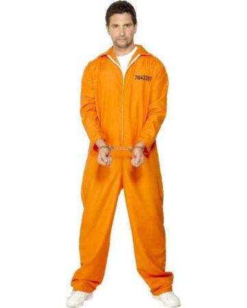 Orange fangedragt til voksne 361x450 - Orange kostumer til voksne