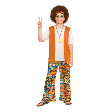 Orange hippie kostume til børn 450x450 - Orange kostumer til børn