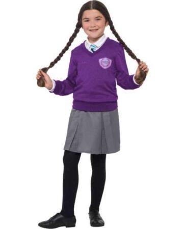 St Clares Tvillinge Pige kostume 361x450 - Lilla kostumer til børn