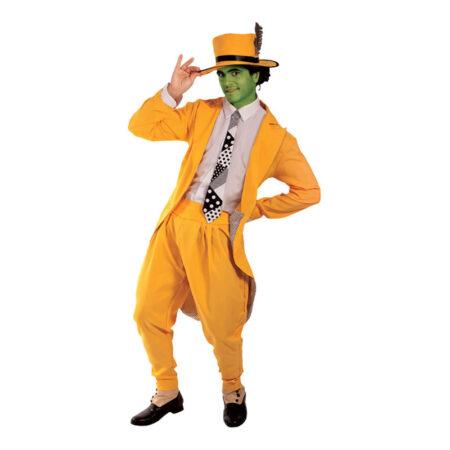 The mask kostume 450x450 - Gule kostumer til voksne