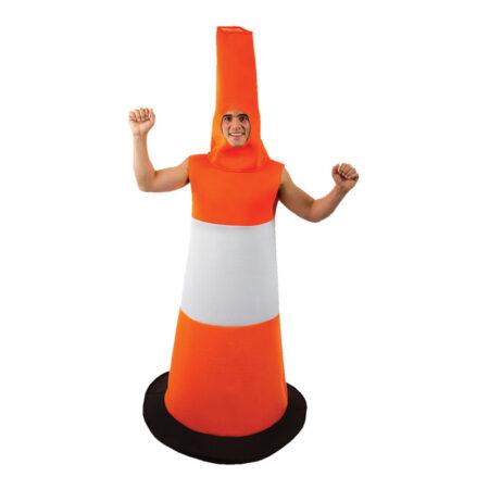 Trafikkegle kostume orange kostume til voksne 450x450 - Orange kostumer til voksne
