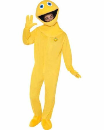 Zippy kostume til voksne 362x450 - Gule kostumer til voksne