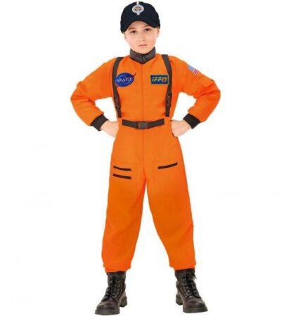 astronaut børnekostume orange kostume 417x450 - Orange kostumer til børn