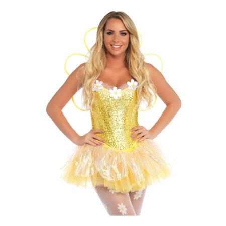 daisy doll deluxe kostume 450x450 - Gule kostumer til voksne