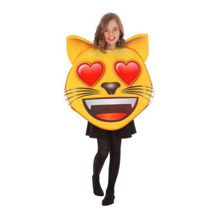 emoji kat børnekostume 450x450 - Gule kostumer til børn