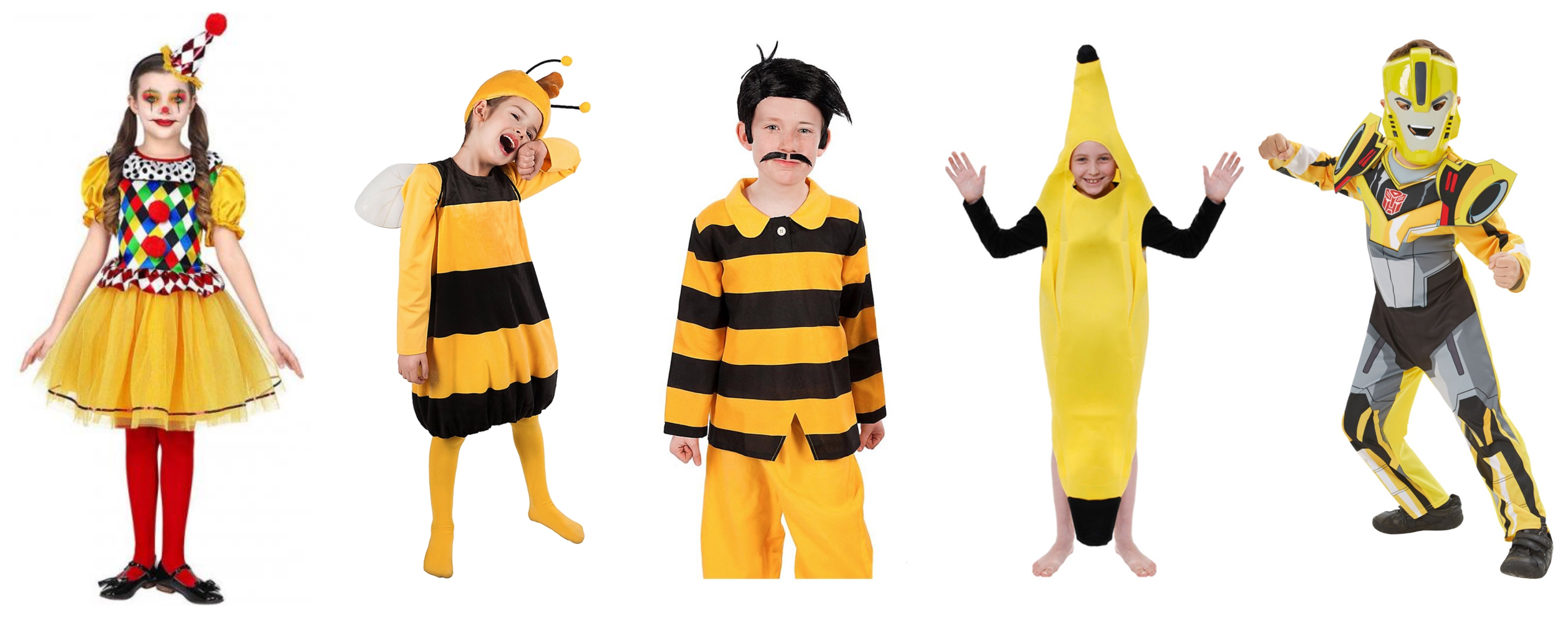gule børnekostumer - Gule kostumer til børn
