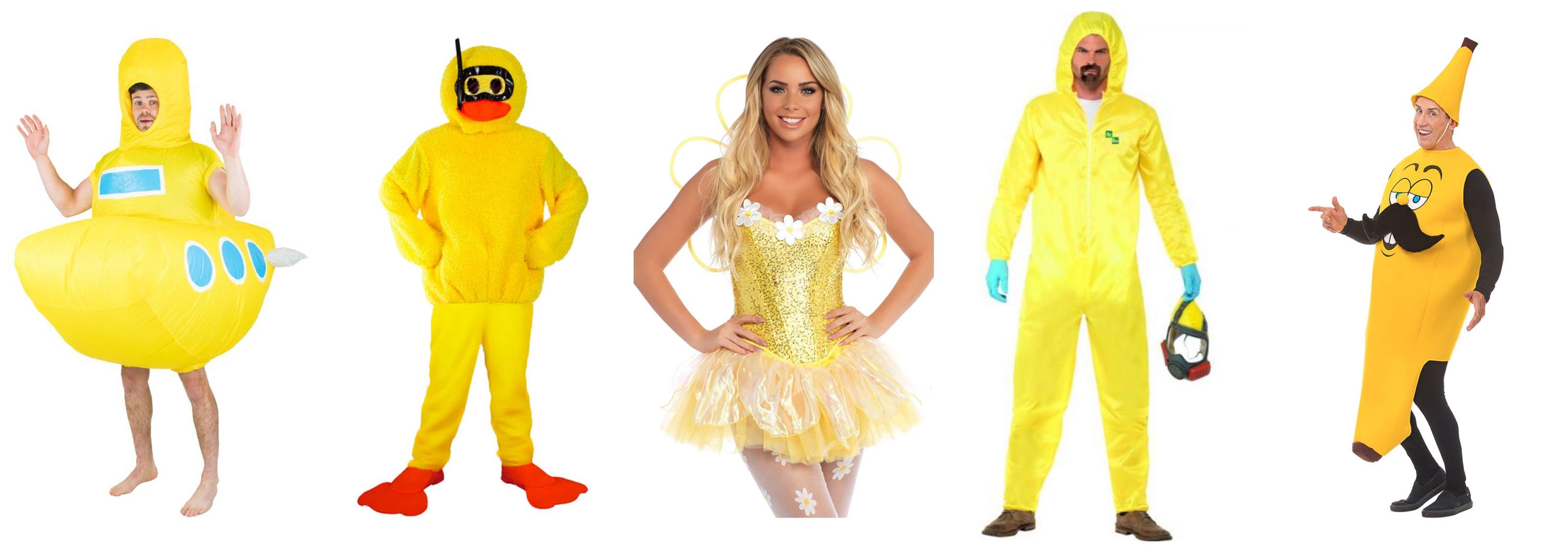 gule kostumer - Gule kostumer til voksne