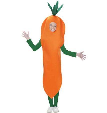 gulerod børnekostume orange kostume til børn 428x450 - Orange kostumer til børn