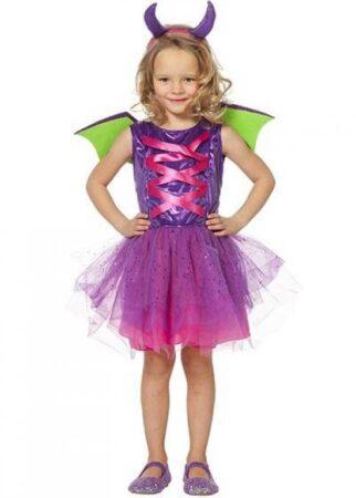 lilla prinsesse drage børnekostume 322x450 - Lilla kostumer til børn