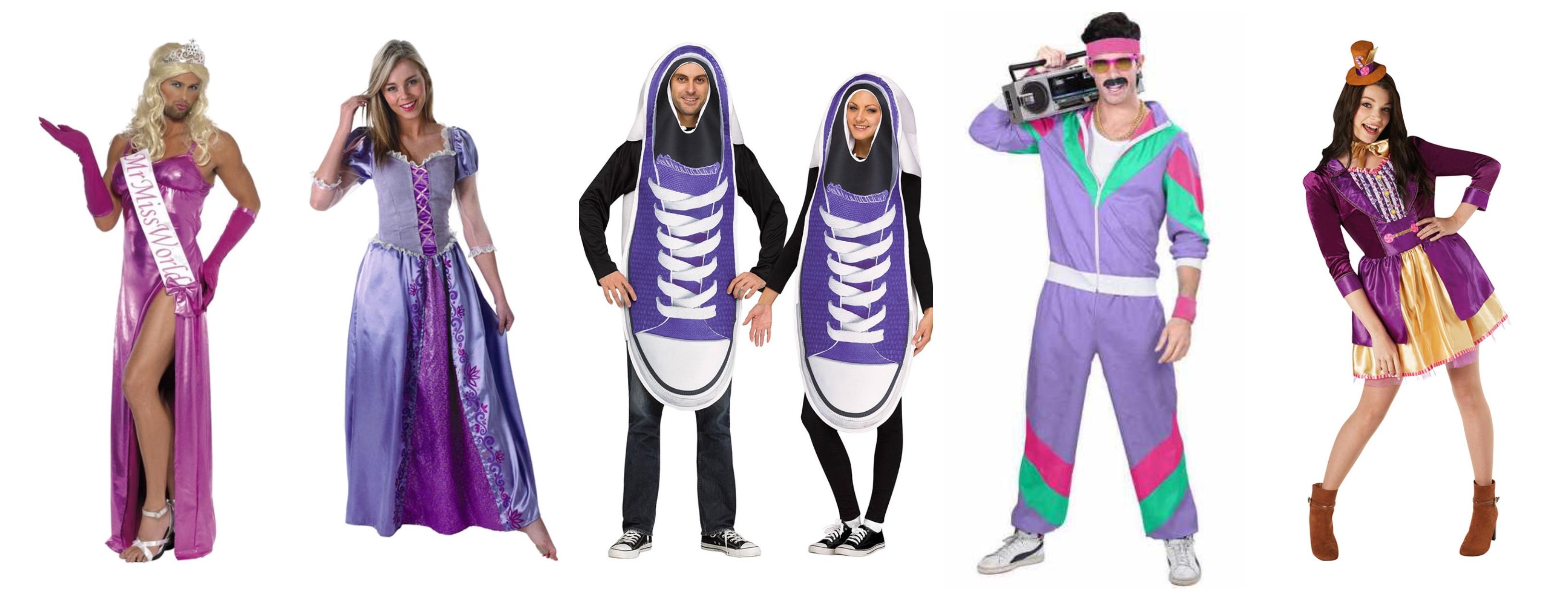 lilla voksenkostumer lilla kostumer til voksne - Lilla kostumer til voksne