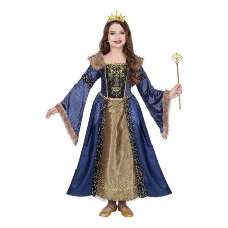 middelalder dronning børnekostume 450x450 - Middelalder kostume til børn