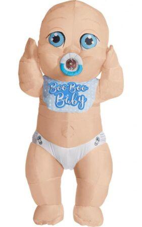 oppustelig baby dreng kostume til voksne 281x450 - Baby kostume til voksne