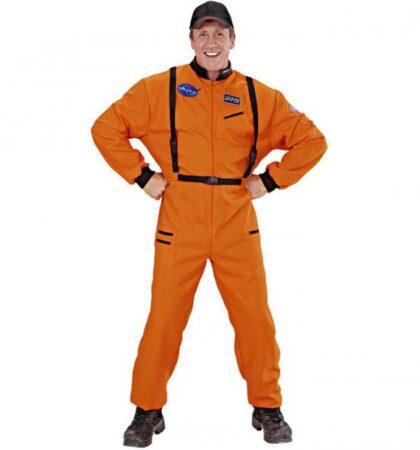 orange astronaut kostume 420x450 - Orange kostumer til voksne