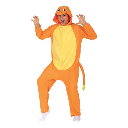orange drage kostume 450x450 - Orange kostumer til voksne