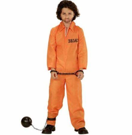 orange fangedragt til børn 440x450 - Orange kostumer til børn