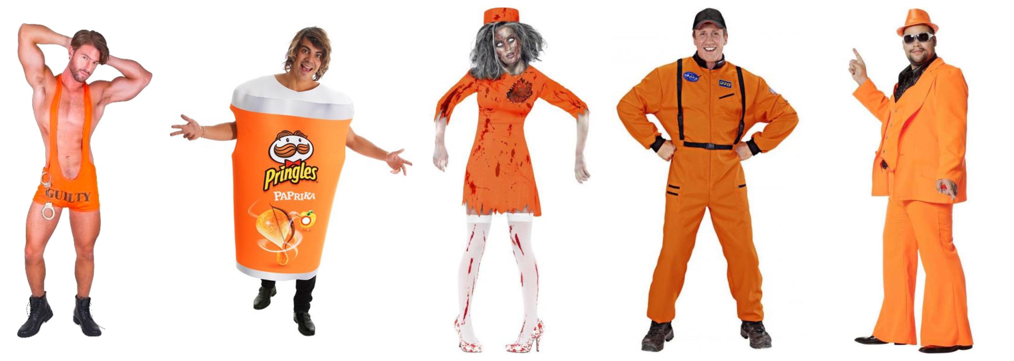 orange kostume til voksne orange voksenkostumer - Orange kostumer til voksne