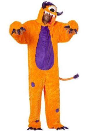 orange monster kostume til voksne 313x450 - Orange kostumer til voksne