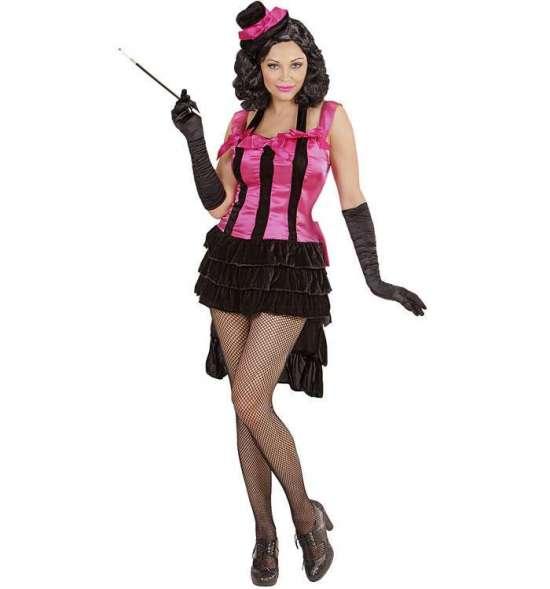 Burlesque Diva kostume pink kostume til kvinder - Lyserøde/pink kostumer til voksne