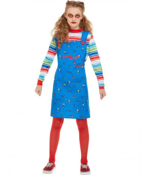 Chucky børnekostume til piger - Chucky kostume til børn og baby