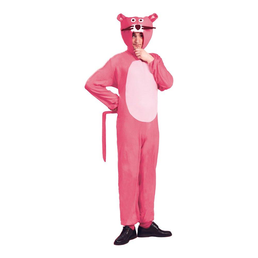 Den lyserøde panter kostume til voksne pink kostumer til voksne - Lyserøde/pink kostumer til voksne