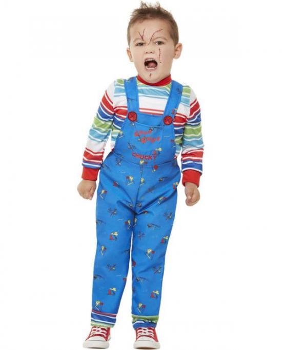 chucky børnekostume - Chucky kostume til børn og baby