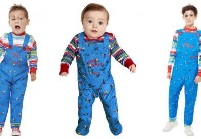 chucky kostume til børn, chucky udklædning til børn, chucky kostumer, chucky børnekostume, chucky babykostume, halloween kostume til børn, halloween kostume til baby
