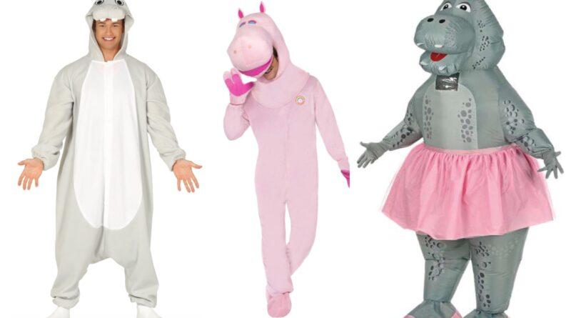 flodhest kostume til voksne, flodhest udklædning til voksne, flodhest voksenkostume, flodhest kostumer, dyrekostumer til voksne, sjove kostumer til voksne