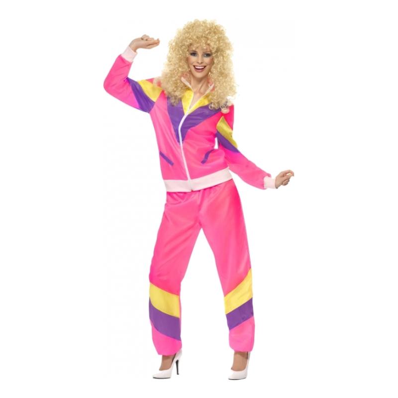 lyserød træningsdragt kostume - Lyserøde/pink kostumer til voksne