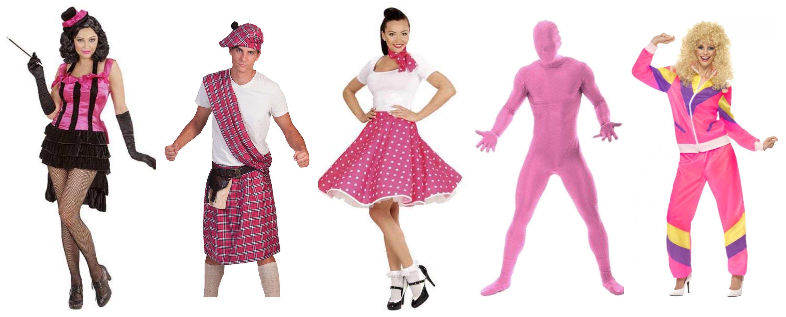 lyserøde kostumer til voksne - Lyserøde/pink kostumer til voksne