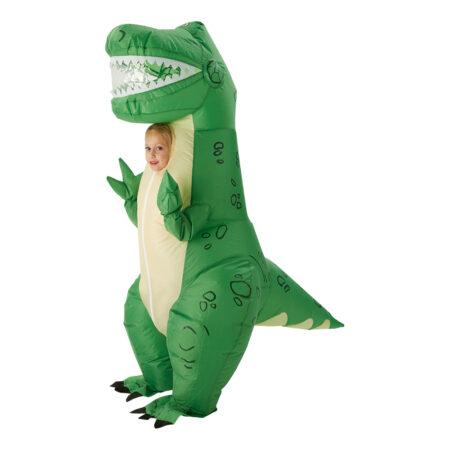 oppustelig rex kostume toy story 4 udklædning fastelavnskostume til børn