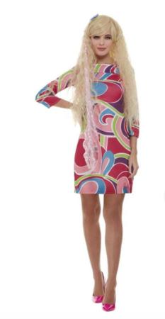 Barbie voksenkostume 233x450 - Barbie kostume til voksne