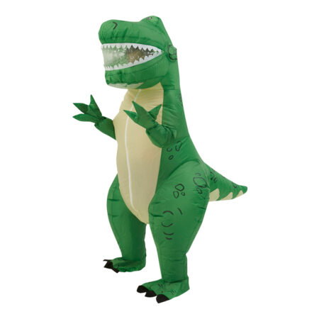 Toy story 4 rex oppustelig toy story 4 kostume grønt kostume til børn dinosaur kostume rex kostume