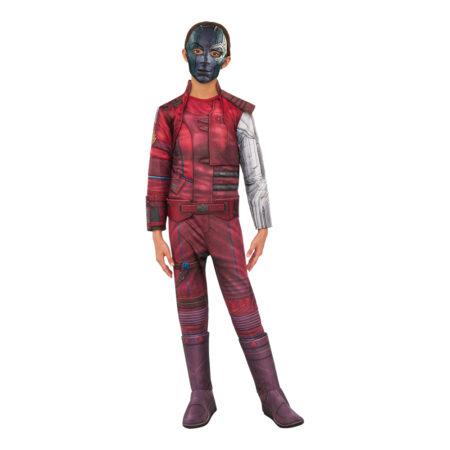 endgame kostume til børn Nebula kostume til børn avengers Nebaula fastelavnskostume