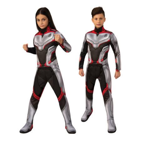 avengers 4 avengers endgame børnekostume avengers team suit udklædning til børn superheltekostume til fastelavn