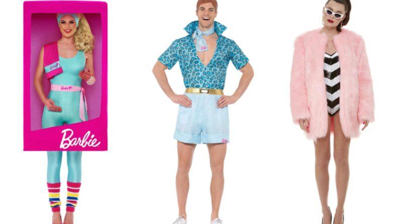 barbie kostume til voksne, barbie voksenkostume, barbie udklædning til voksne, ken kostume til voksne, barbie dukke kostume