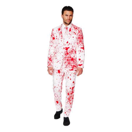 Blodigt jakkesæt 450x450 - Halloween jakkesæt til voksne