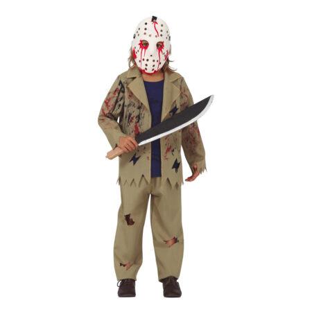 seriemorder kostume til børn halloween kostume til børn med maske