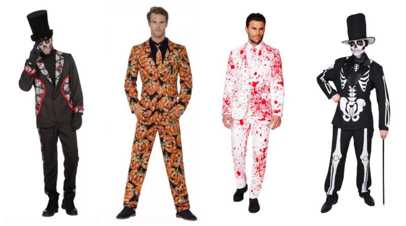 halloween jakkesæt til voksne, halloween kostumer til voksne, halloween voksenkostumer, halloween kostumer til voksne