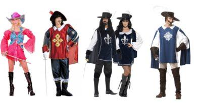 musketer kostume til voksne musketer udklædning 390x205 - Musketer kostume