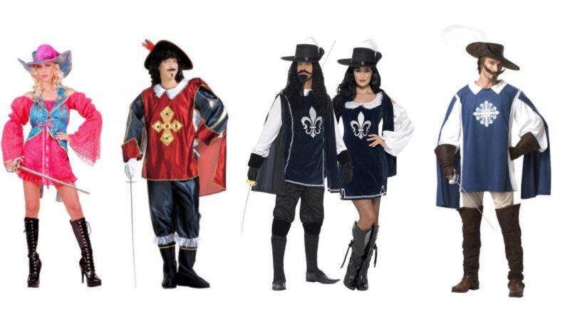 musketer kostume til voksne musketer udklædning 800x445 - Musketer kostume
