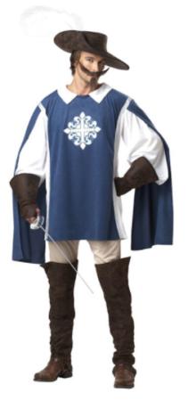 musketer kostume til voksne musketer udklædning historisk kostume til voksne musketer kostume til mænd