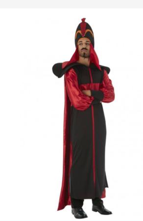 Jafar kostume til voksne disney skurk kostume til voksne eksotisk kostume til mænd