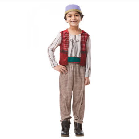 aladdin børnekostume disney kostume til drenge fastelavnskostume