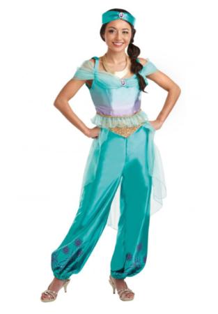 jasmin udklædning til voksne jasmin kostume kvinder jasmin dame kostume disney kostume til voskne